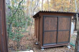 木製駐輪場=もくちゃり庫