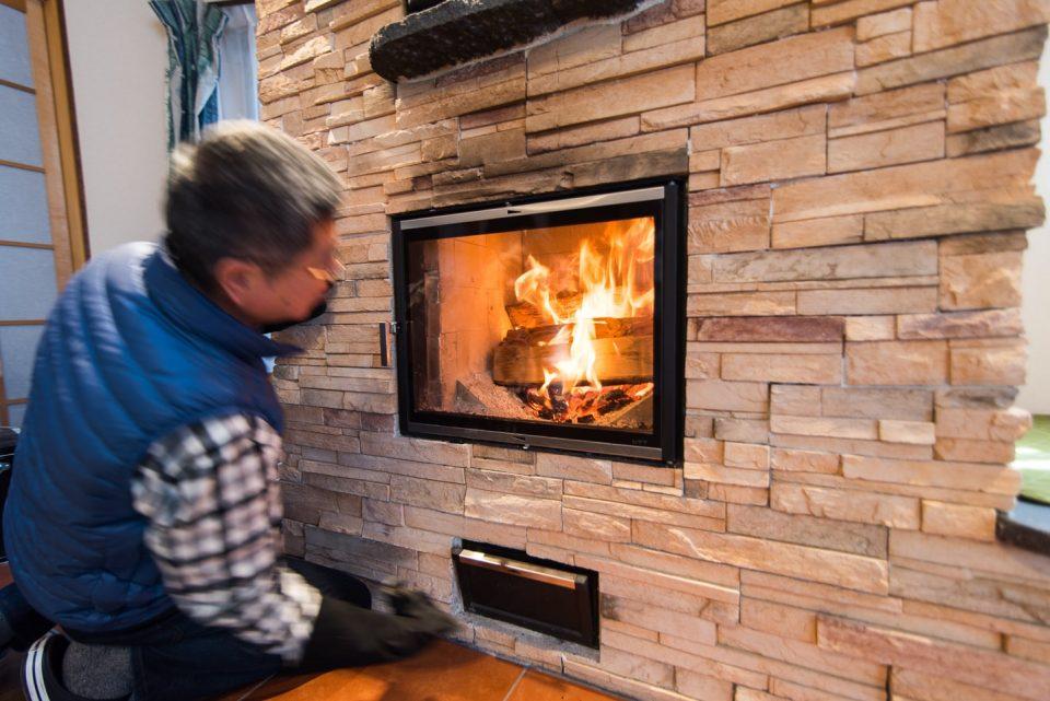 「暖房を楽しむ」とオーナー様談