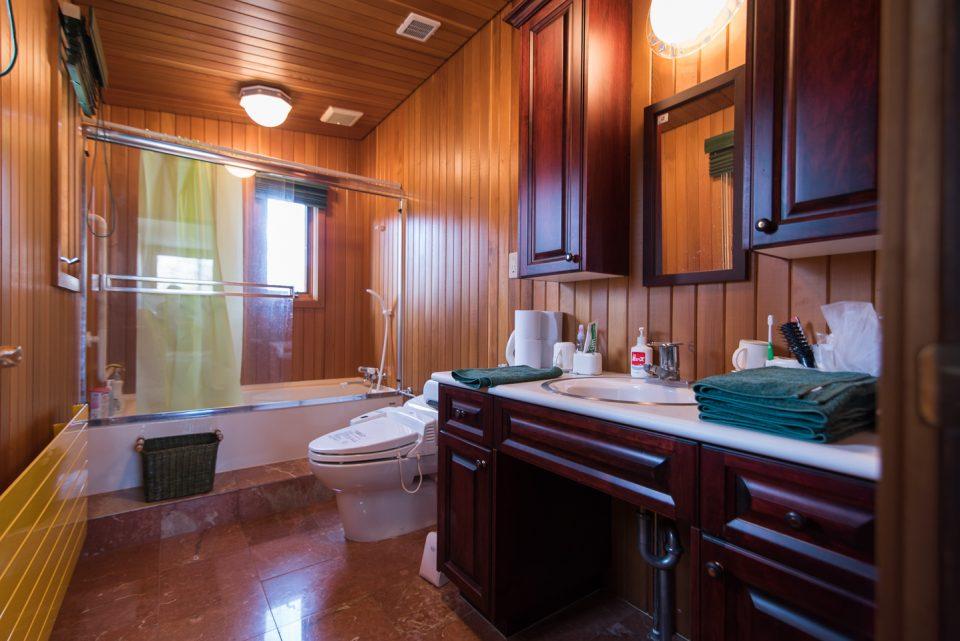二階バスルーム