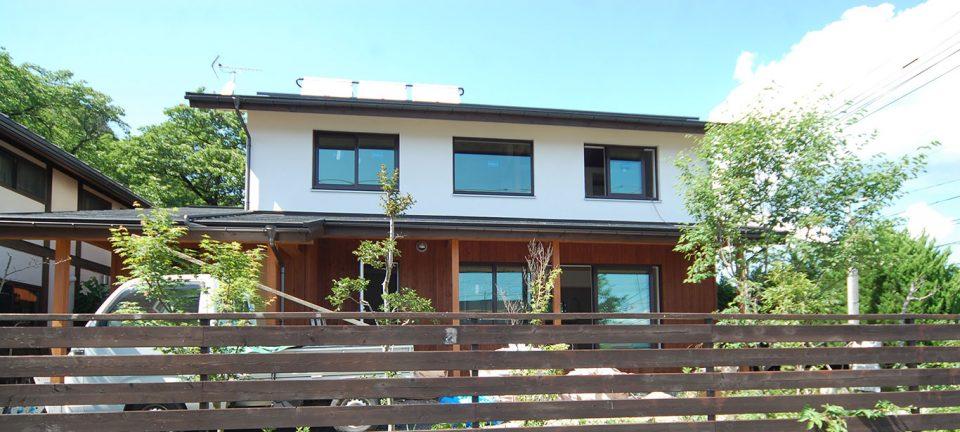 太陽集熱&発電でエネルギー自立/Y邸