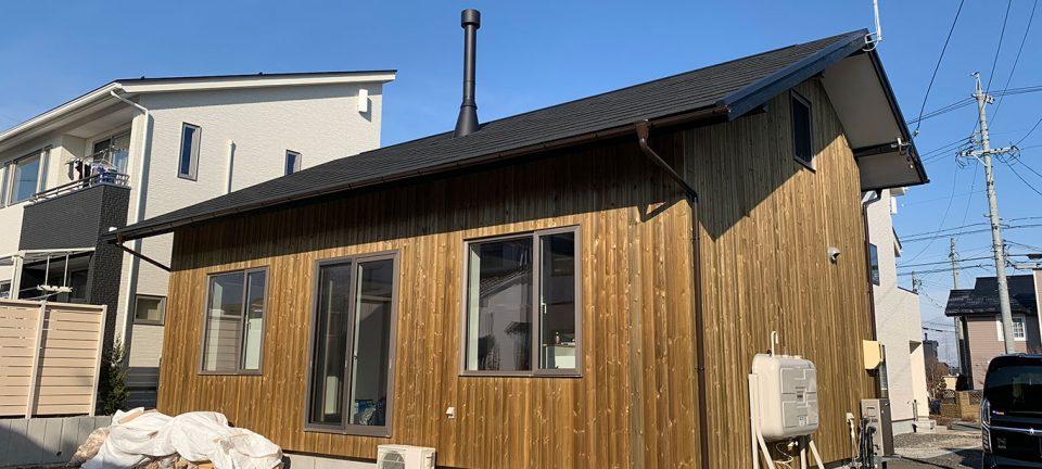 二人暮らし平屋風コンパクトハウス