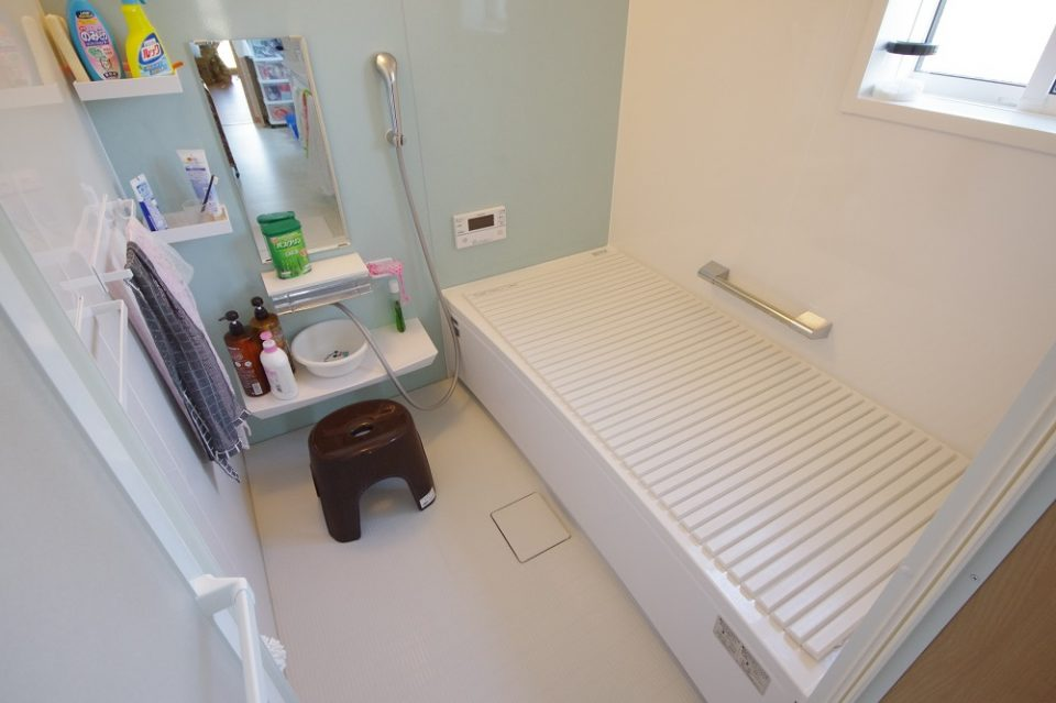 設備:風呂は共用になります