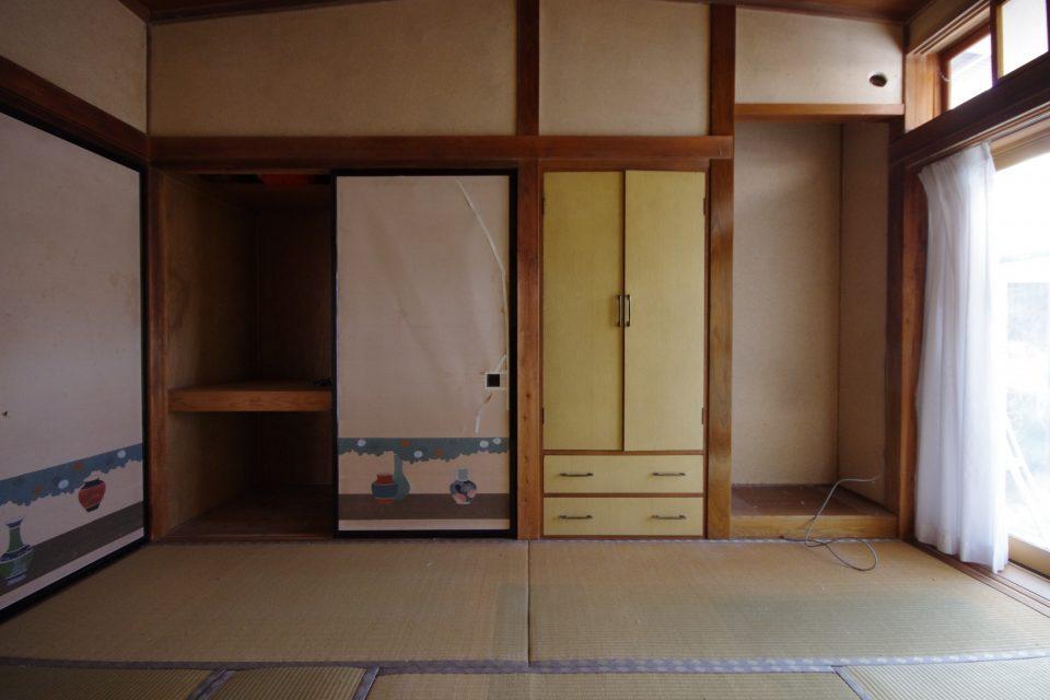 内装:この部屋はDK5.5帖に変わります