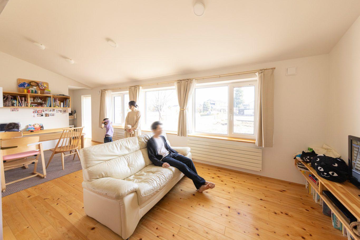 """""""我が家のライフスタイル""""に合った自由設計の家で快適な暮らしを"""