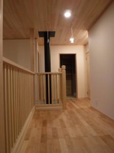 洗濯もの干場にも 洗面脱衣+浴室が2階にあるので動線最短