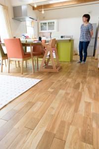 24LDKの床は繋がって広いスペース