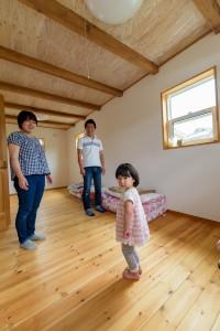 51将来2部屋になる予定の子ども部屋