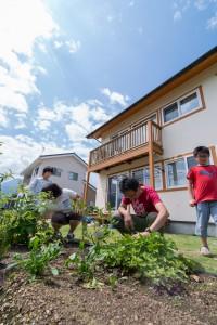 03.家庭菜園で野菜を作ります