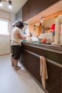 21.展示場で気に入ったキッチン